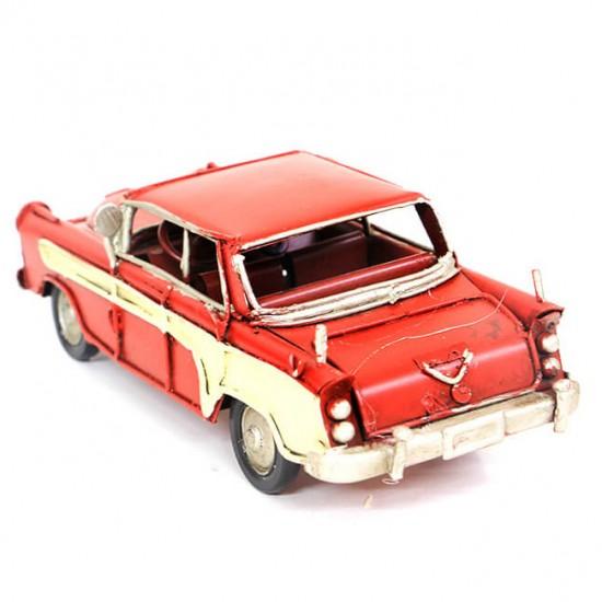 1956 Model Metal Nostaljik  Chevrolet Kırmızı