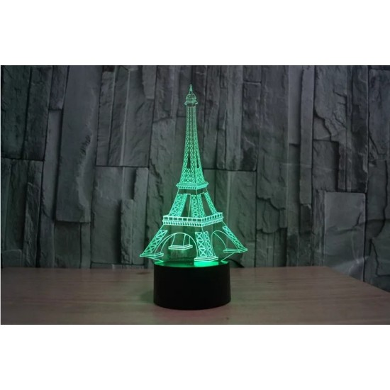 3D Eyfel Kulesi Lamba