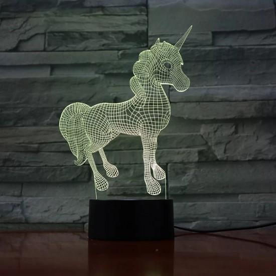 3D Unicorn Lamba