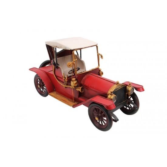 Ford Classic Coupe  Kırmızı Dekoratif Metal Araba