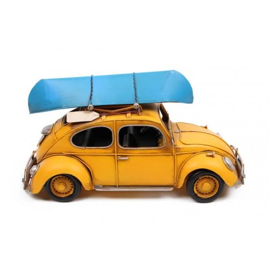 Volkswagen Beetle Classic Vosvos Dekoratif Metal Araba