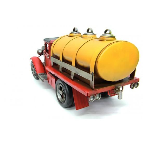 Dekoratif Metal Tanker