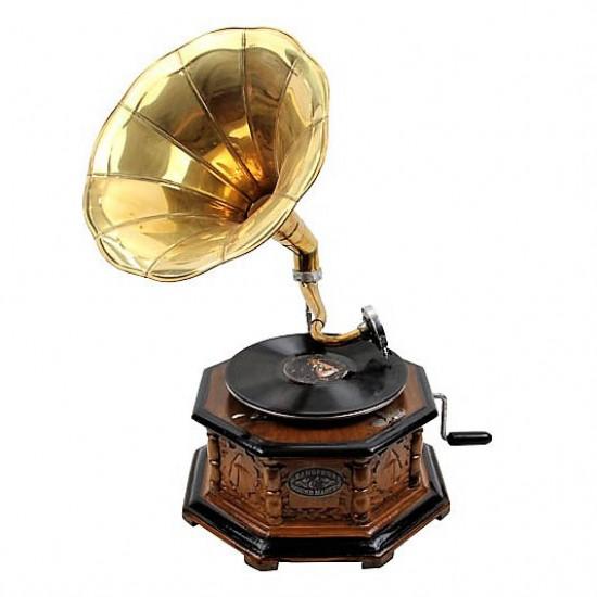 Gramofon Sekizgen Oymalı 533
