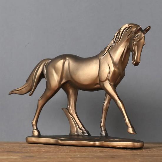 At Tasarımlı Dekoratif Büyük Boy Biblo  Model 1