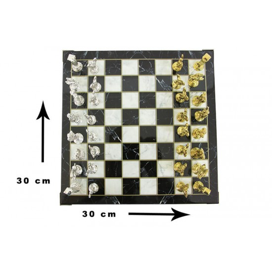 Satranç Mermer Tabla XL