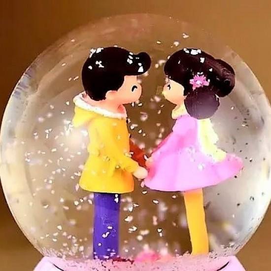 Aşıklar Büyük  Boy  Kar Küresi