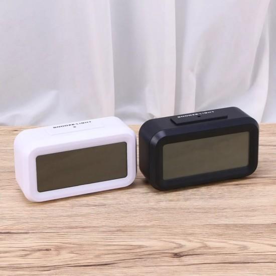 Akıllı Işık Sensörlü Termometre Göstergeli Saat