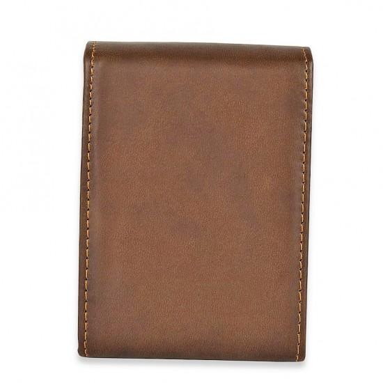 Kahverengi Deri Çantalı Manikür Pedikür Seti