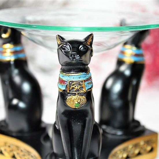 Polyester Mısır Kedi Buhurdanlık