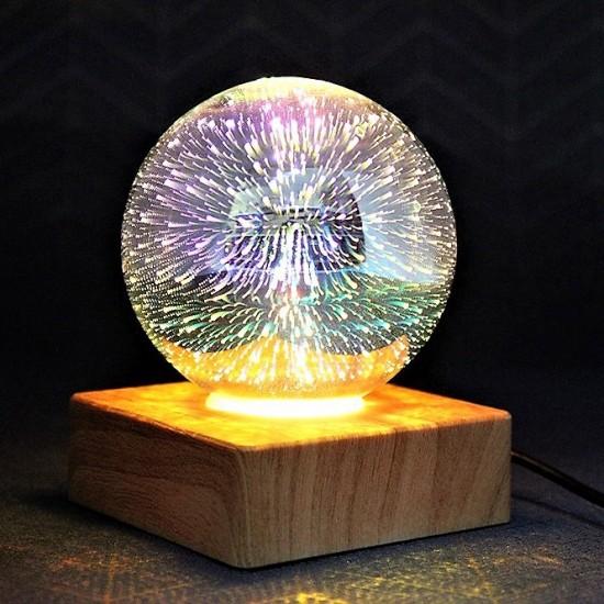 Fişe Takmalı 3D Led Lamba