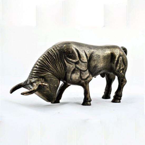 Dekoratif Boğa Biblo 34 Cm