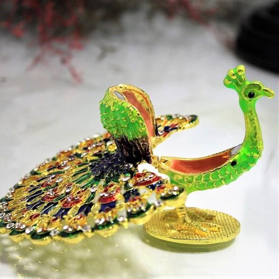 Swarovski Tavuzkuşu Dekoratif Aksesuar