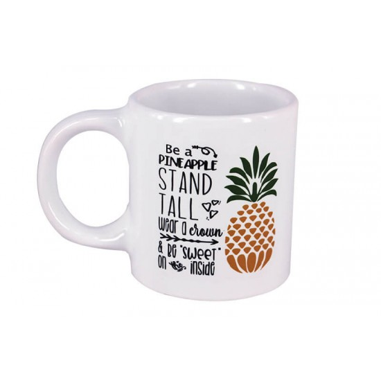 Çılgın Ananas Dekoratif Stres Kupa