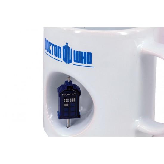 Doktor Who Tardis Dekoratif Stres Kupa