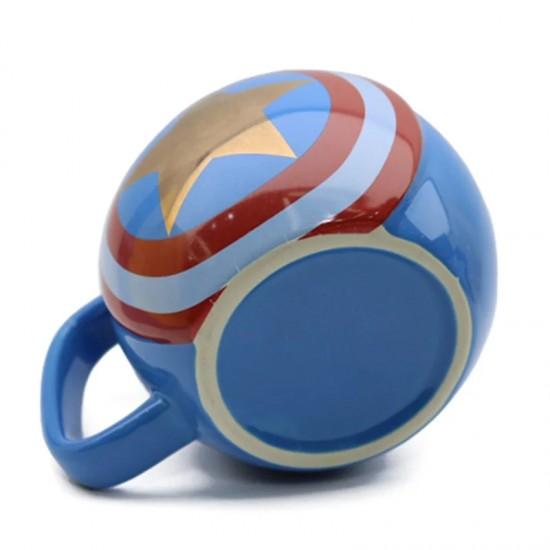 Kaptan Amerika Tasarımlı Kupa Bardak