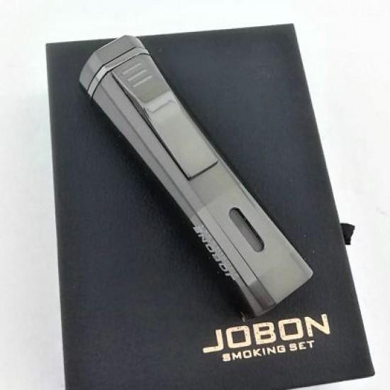 3'lü Pürmüz Alevli Jobon Marka Metal Puro Çakmağı