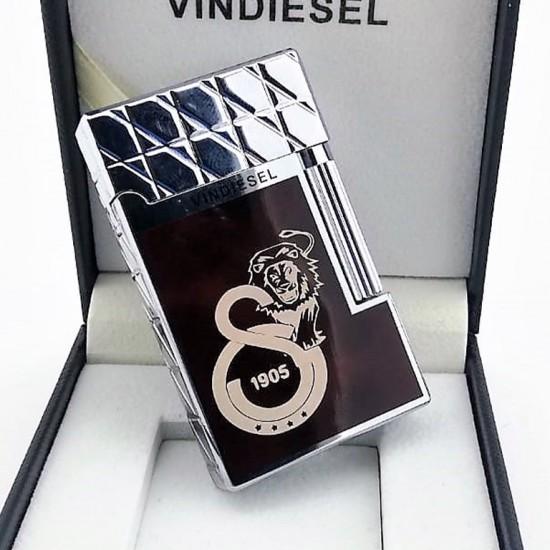 Galatasaray Logolu Vindiesel Çakmak Bordo