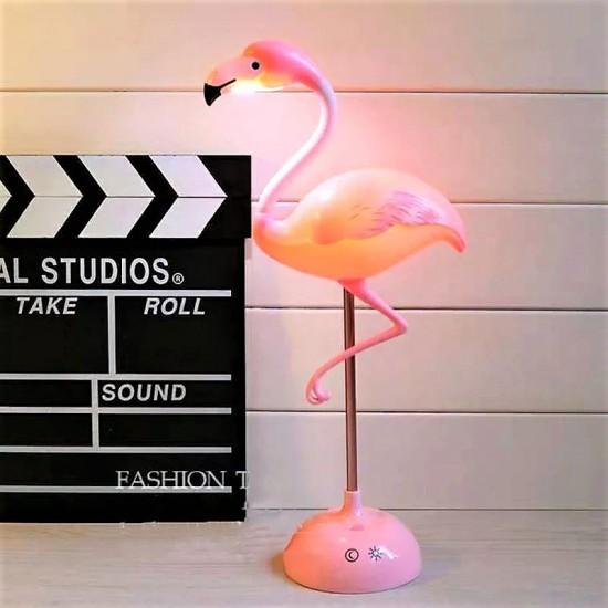 Dekoratif Flamingo  Masa Lambası Biblo
