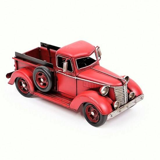 Dekoratif Ford Kamyonet Metal Araba