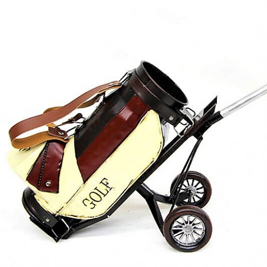 Dekoratif Metal Golf  Arabası