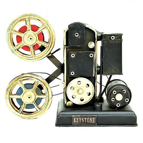 Dekoratif  Nostaljik  Metal Sinemaskop  (model 1)