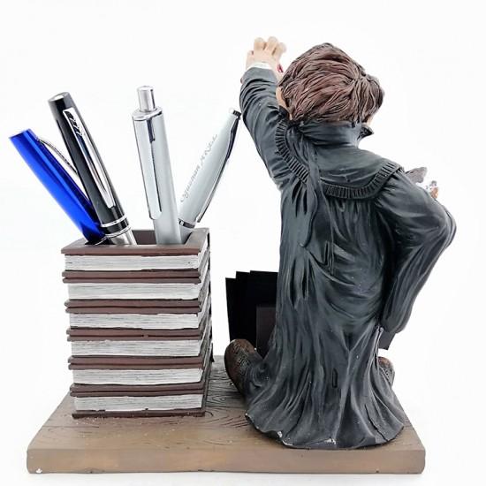 Kişiye Özel Erkek Avukat Biblolu Kalemlik ve Kartvizitlik