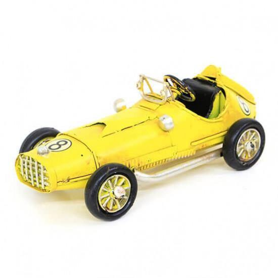 Dekoratif Nostaljik Yarış Arabası