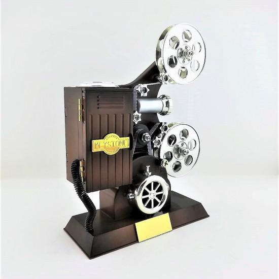 İsme Özel Film Makinesi Müzik Kutusu