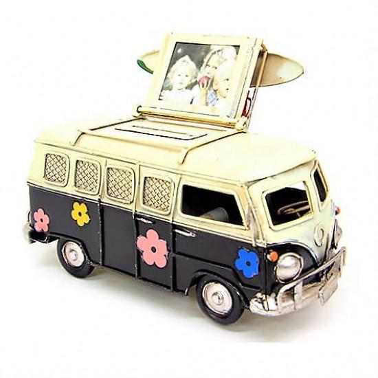 İsme Özel Vosvos Minibüs Siyah