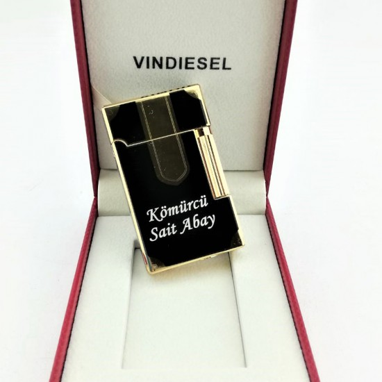 İsme Özel Vındiesel Modeli Çakmak (Siyah)