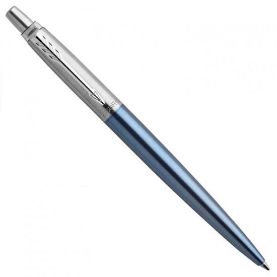 Kişiye Özel Parker Jotter Gökyüzü Mavisi Gümüş Tükenmez Kalem