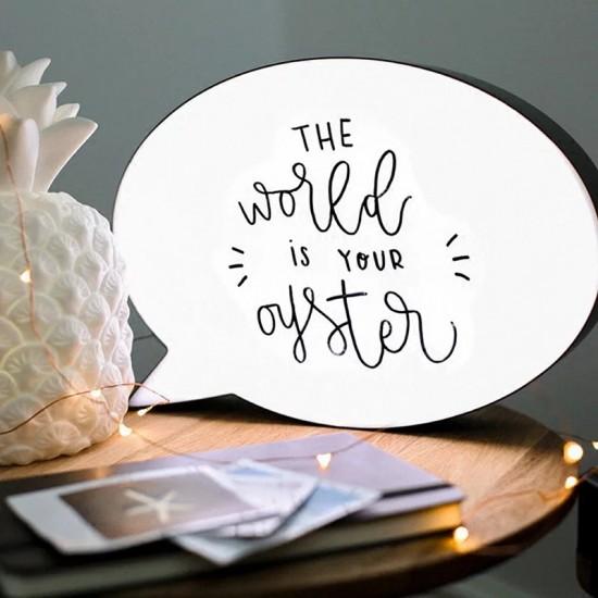 Konuşma Balonu Görünümlü Işıklı Mesaj Panosu