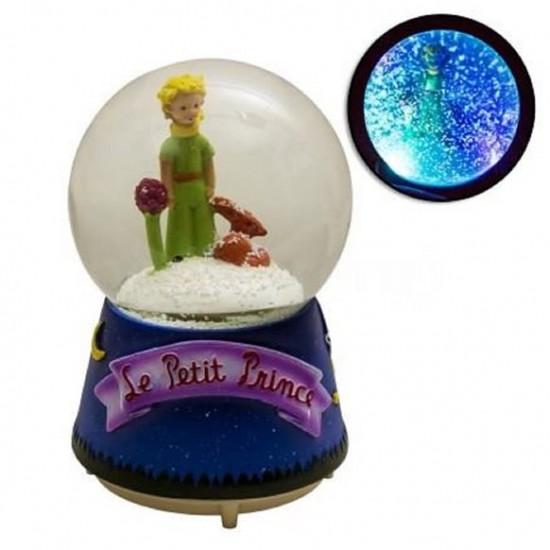 Küçük  Prens Işıklı Müzikli Motorlu Kar  Küresi