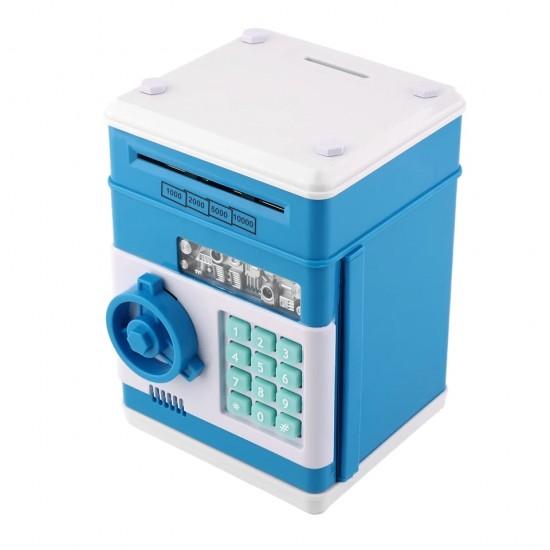 Şifreli Kumbara (Mavi)