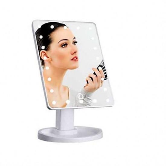 Ledli Makyaj Aynası Dikdörtgen