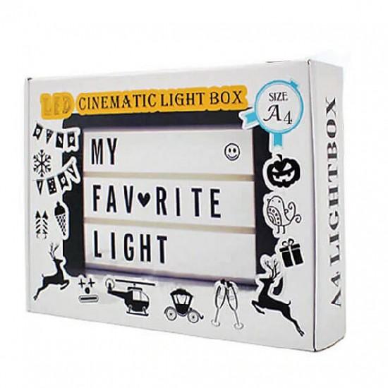 Light Box Led Pano A4