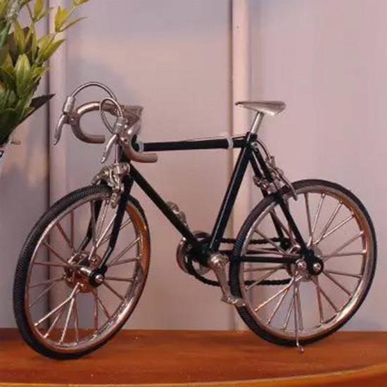 Masa Üstü Dekoratif Metal Bisiklet