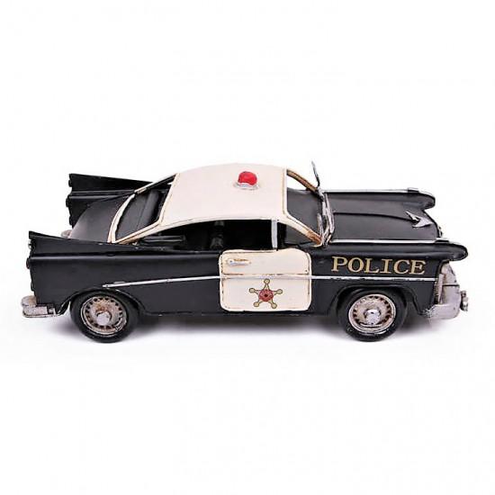 Metal Polis Arabası