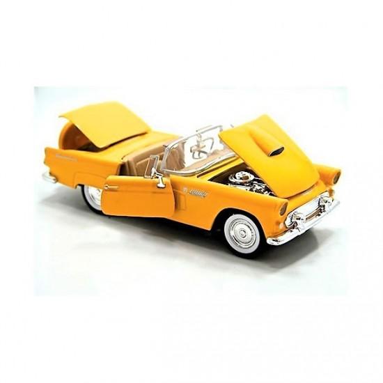 Motor Max 1,24 Diecast 1958 Chevy İmpala model araba Sarı
