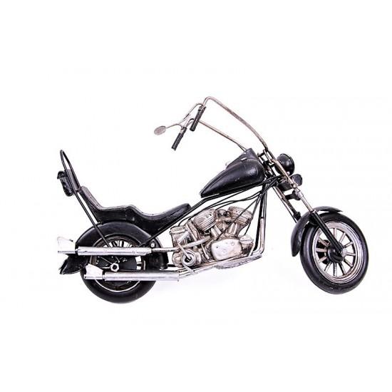 Nostajilk Harley Davidson Motorsiklet  Siyah