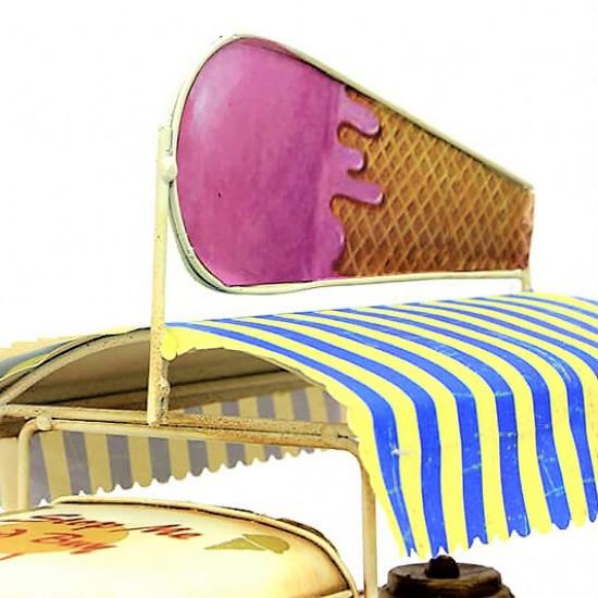 Nostaljik Camper Van Dondurma  Arabası