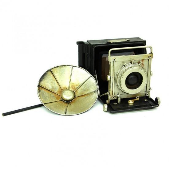 Nostaljik Dekoratif Fotoğraf Makinesi Biblo