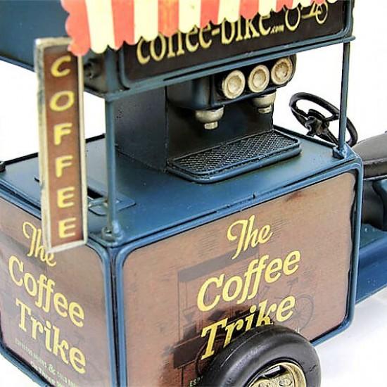 Nostaljik Dekoratif Metal Kahve Arabası VE Kumbara