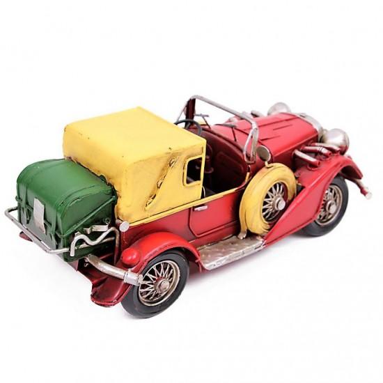 Nostaljik Ford Classic Coupe  Dekoratif Metal  Araba