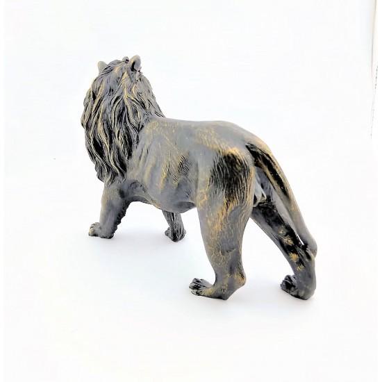 Dekoratif Aslan Tasarımlı Biblosu Füme  Renk