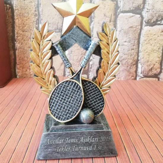 İsme Özel Tenis  Dekoratif Biblo ve Ödül