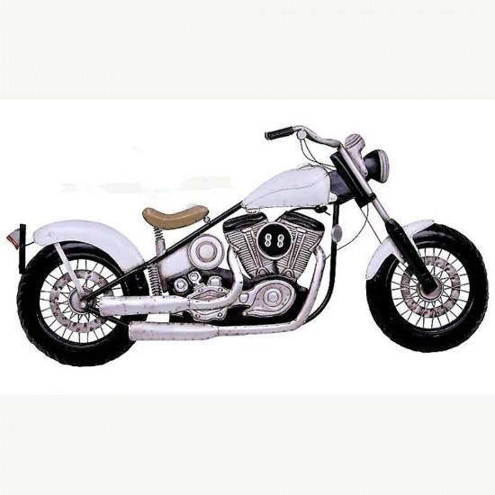 Metal Motorsiklet Pano