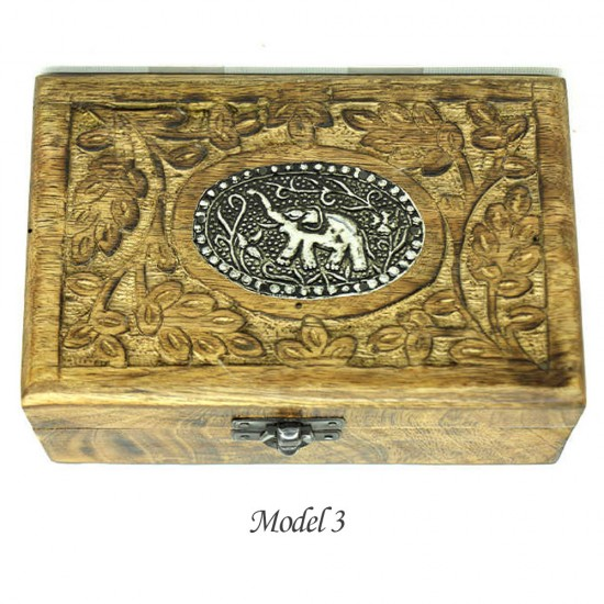 Antik Ahşap Kutu (5 Model)