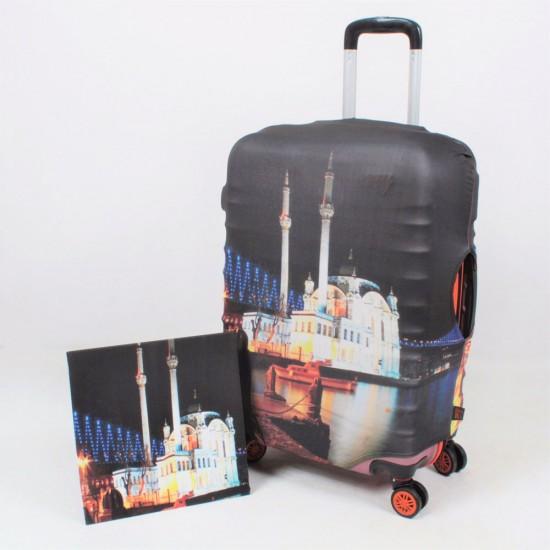 Cami Temalı My Luggage Valiz Kılıfı