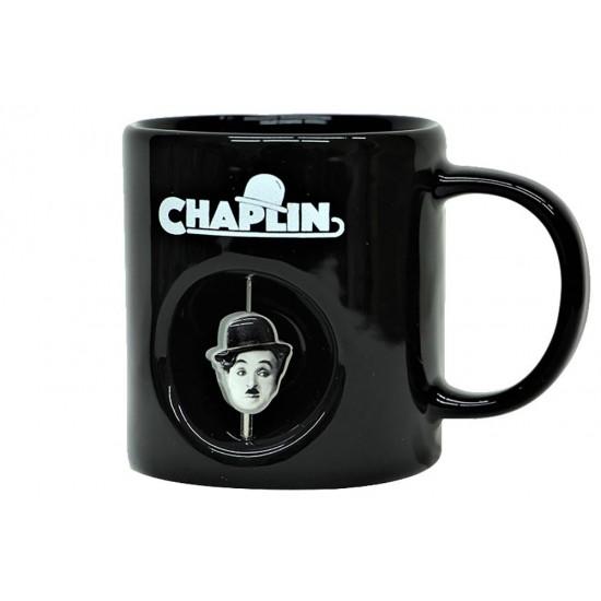 Charlie Chaplin Temalı Stres Kupa Bardak
